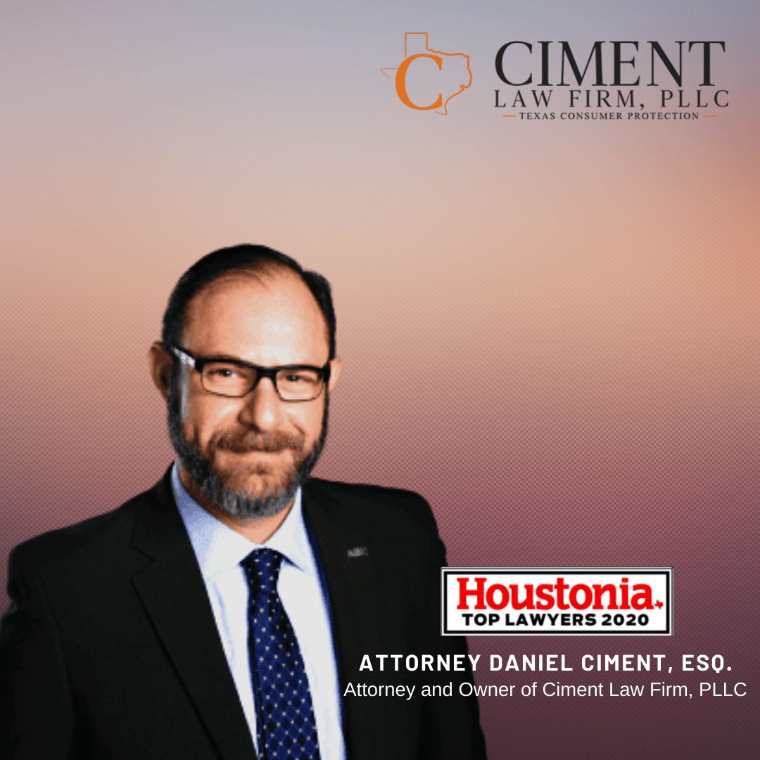 Ciment Law Firm, PLLC Named One of Houston's Top Lawyers by Houstonia Magazine